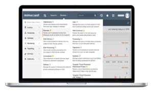 mimecast-admin-console-on-laptop